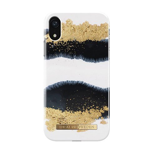 iDeal Fashion Case iPhone XR Gleaming Licorice