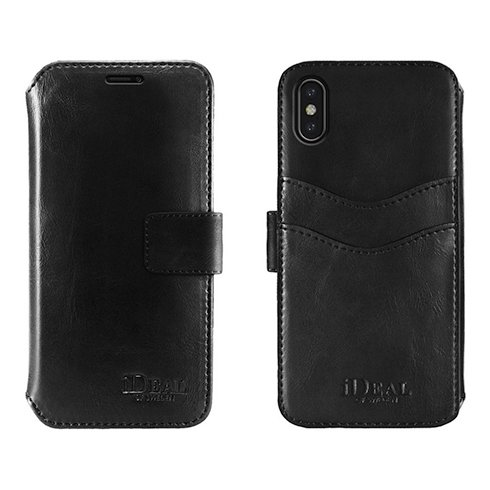 iDeal STHLM Wallet iPhone X/XS Black