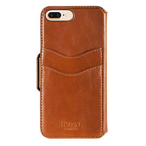 iDeal Swipe Wallet iPhone 7 Plus Brown