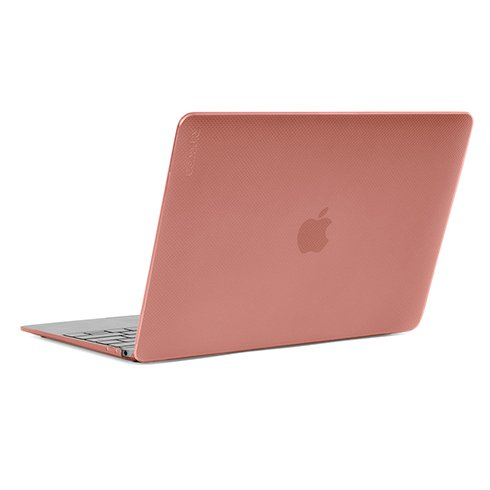"InCase Hardshell Case pre MacBook 12"" Dots - Rose Quartz"