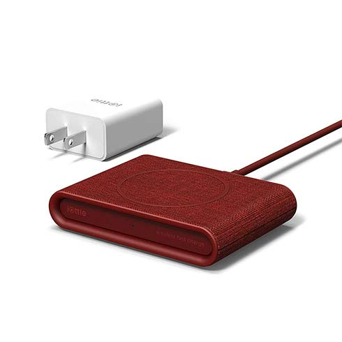 iOttie iON Wireless Fast Charging Pad Mini Qi Certified - Ruby Red