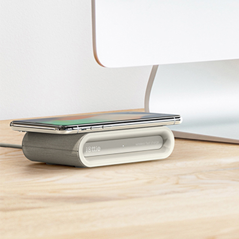 iOttie iON Wireless Fast Charging Pad Plus Qi Certified - Tan