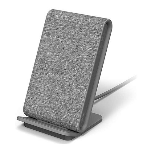 iOttie iON Wireless Fast Charging Stand 10W + QC 3.0 charger - Ash Grey
