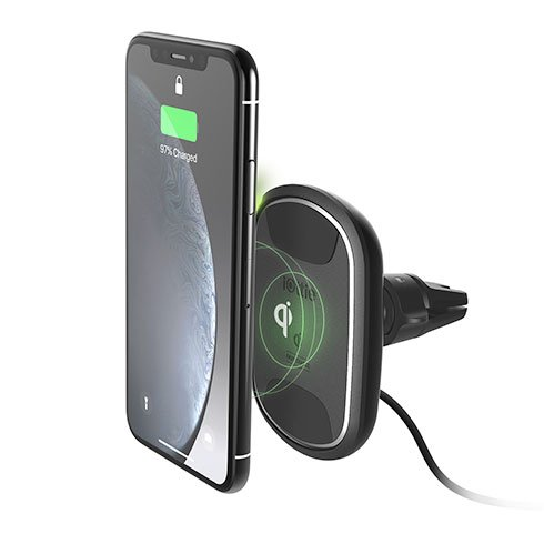 iOttie iTap 2 Wireless Qi Fast Charging Air Vent Mount - Black