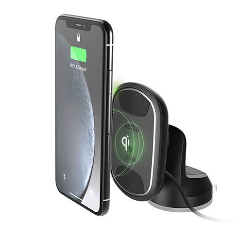 iOttie iTap 2 Wireless Qi Fast Charging Dashboard Mount - Black