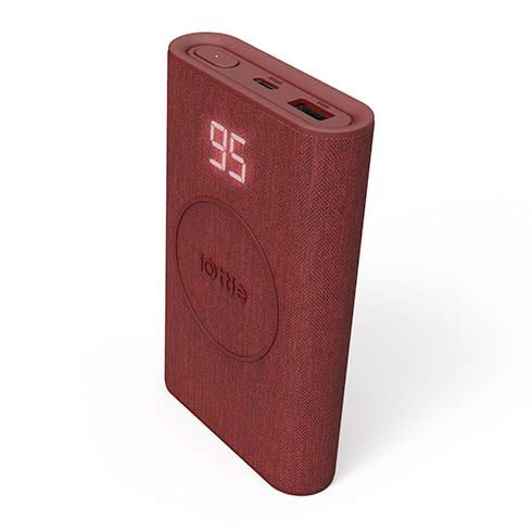 iOttie powerbank iON Wireless Go 10.000 mAh - Ruby Red
