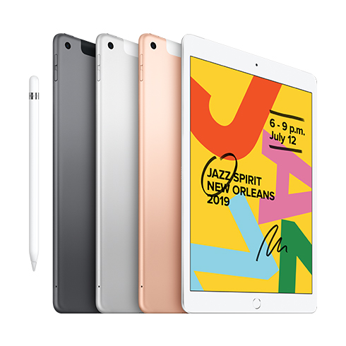 iPad 128GB Wi-Fi + Cellular Silver (2019)