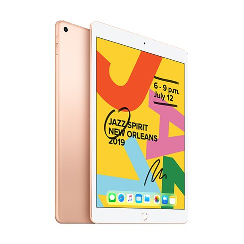 iPad 128GB Wi-Fi Gold (2019)