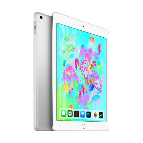 Apple iPad 128GB Wi-Fi Silver (2018)