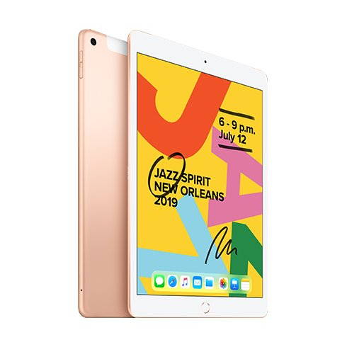iPad 32GB Wi-Fi + Cellular Gold (2019)