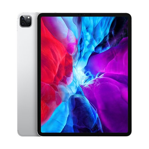 "iPad Pro 12.9"" Wi-Fi + Cellular 128GB Silver (2020)"