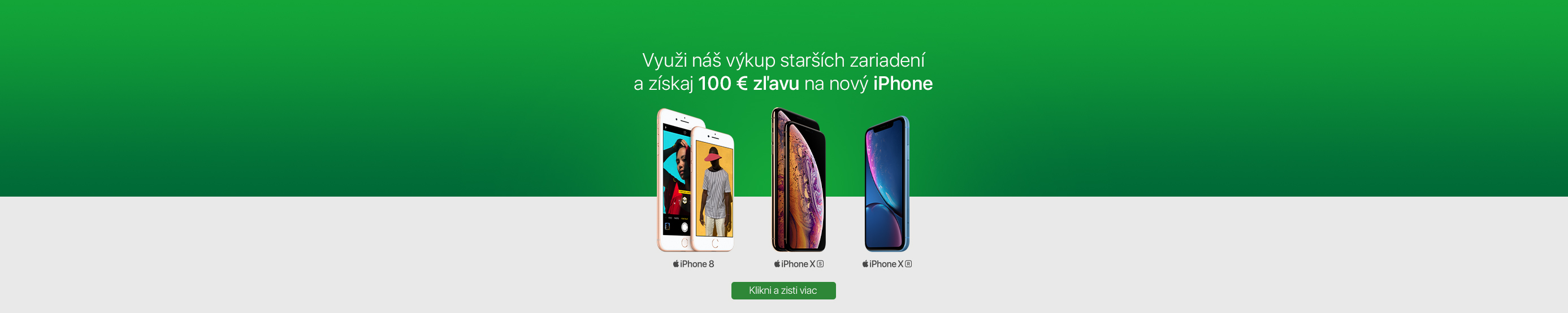 iPhone XR so 100 € bonusom za výkup