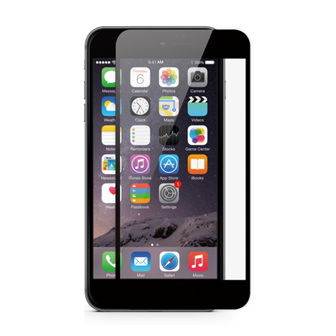 JCPAL folia pre iPhone 6 iFlex Screen Protector - Black frame