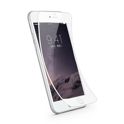 JCPAL folia pre iPhone 6 iFlex Screen Protector - White frame