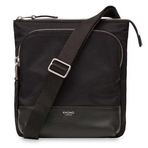 "Knomo taška Carrington Cross Body 10"" - Black"