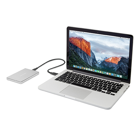 "LaCie ext. HDD 1TB Mobile Drive 2.5"" USB-C - Silve"