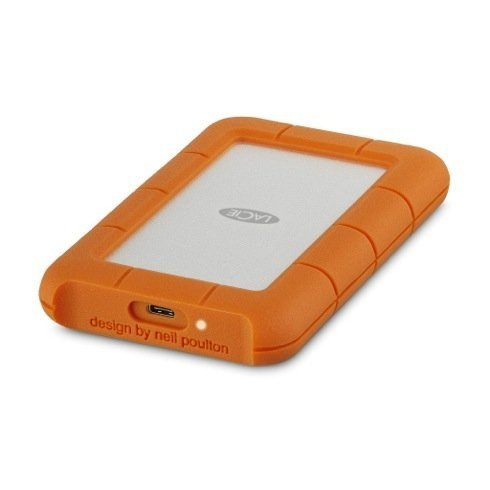 LaCie ext. HDD 1TB Rugged 2,5'' USB-C
