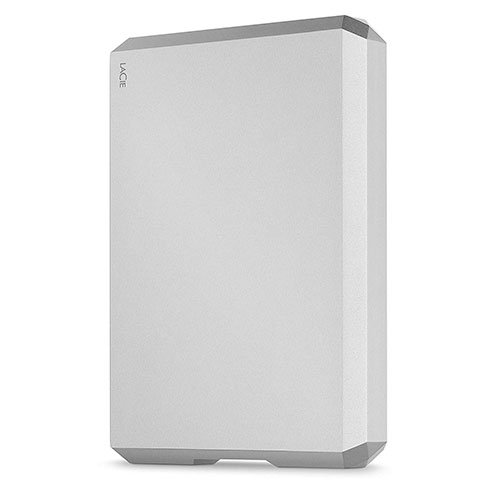 "LaCie ext. HDD 4TB Mobile Drive 2.5"" USB 3.1 - Moon Silver"
