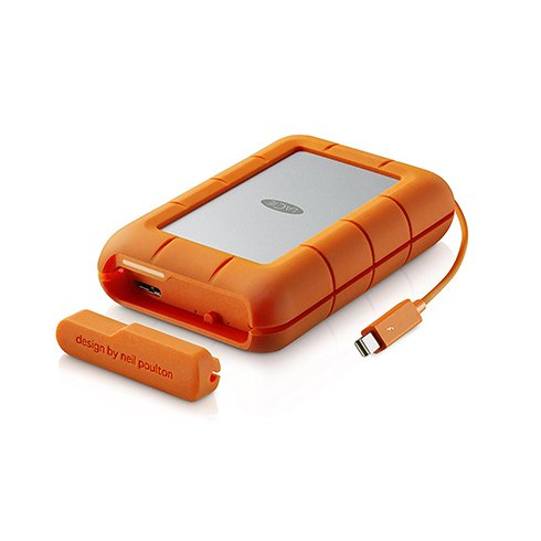 LaCie ext. HDD 4TB Rugged 2.5'' USB 3.0 Thunderbolt™ with cable