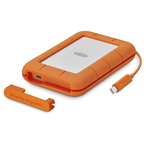 LaCie SSD 1TB Rugged USB-C - Thunderbolt series