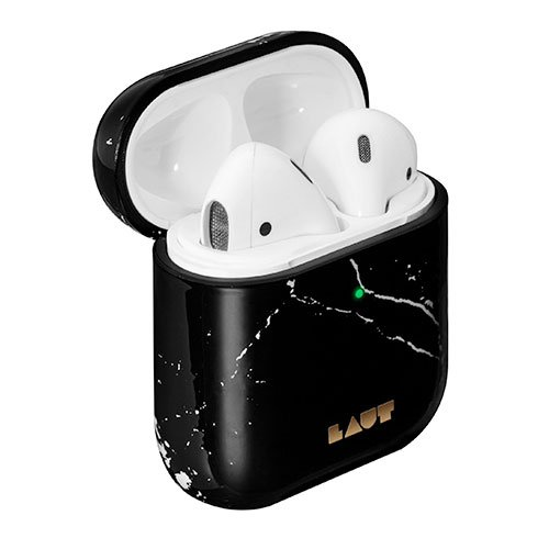 LAUT puzdro Huex Elements pre Apple AirPoads - Marble Black