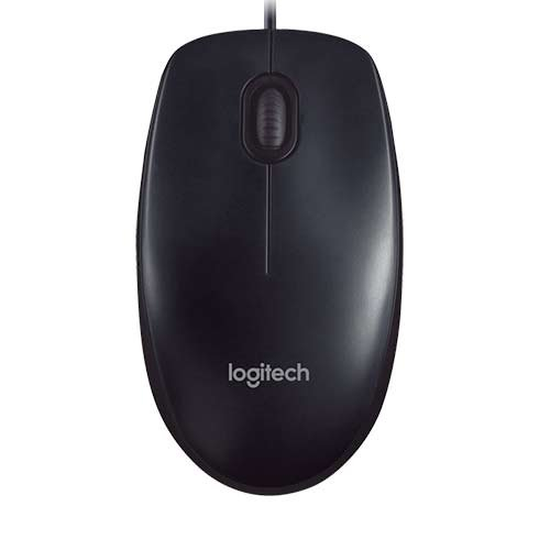 Logitech mouse, M90, Black, USB