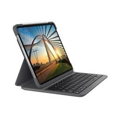 Logitech® Slim Folio Pro for iPad Pro 12.9-inch (3rd and 4th gen) - GRAPHITE - UK - INTNL