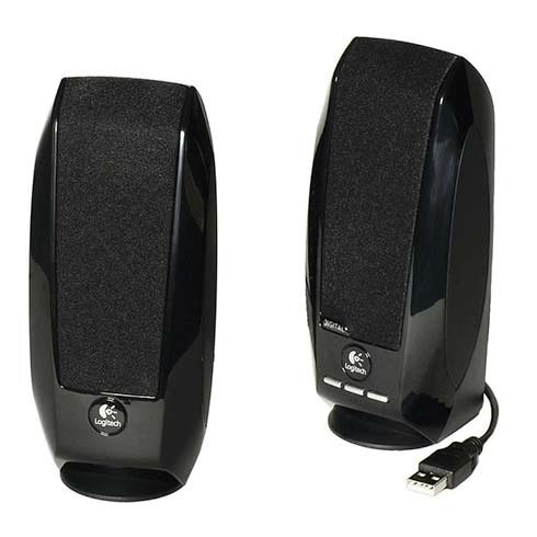 Logitech speakers S-150, black, 5W RMS, OEM