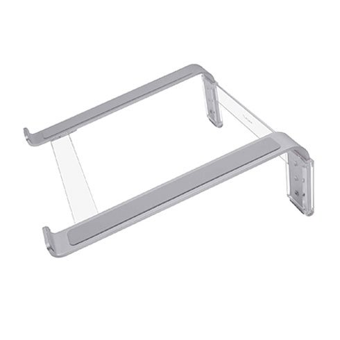 Macally stojan Adjustable aluminum laptop stand - Silver Aluminium