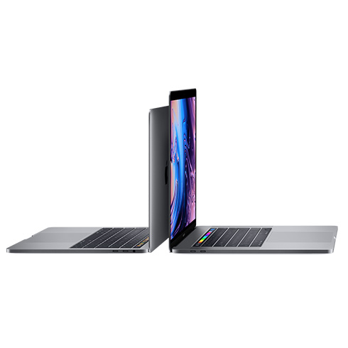 "MacBook Pro 15"" Retina Touch Bar i7 2.2GHz 6-core 16GB 256GB Silver SK"