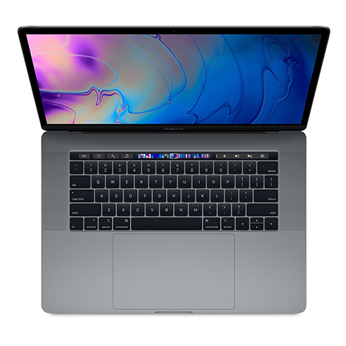 "MacBook Pro 15"" TB i7 2.6GHz 6-core 16GB 256GB Space Gray INT English"