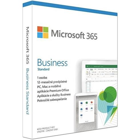 Microsoft 365 Business Standard P6 Mac/Win, 1 rok, SK