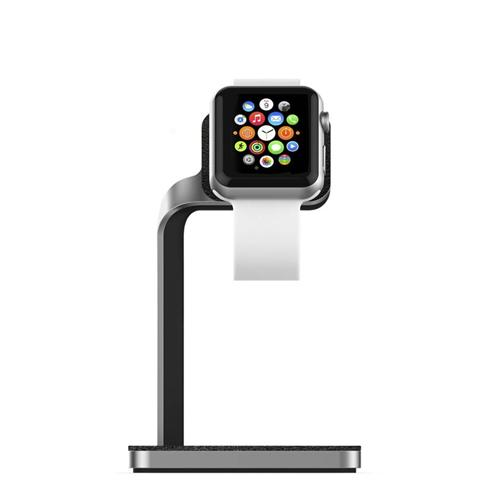 Mophie stojan Apple Watch Dock - Silver / Black