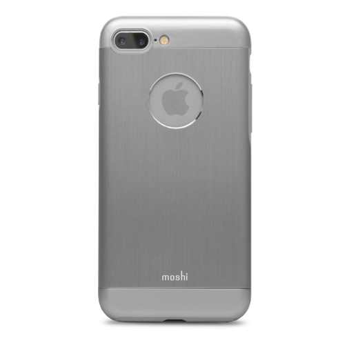 Moshi kryt iGlaze Armour pre iPhone 7 Plus - Gunmetal Grey