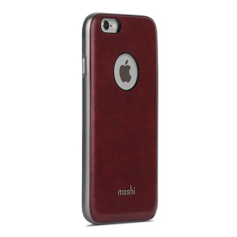 Moshi kryt iGlaze Napa pre iPhone 6/6s - Burgundy Red