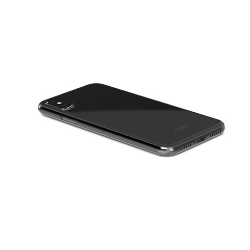 Moshi kryt SuperSkin pre iPhone X/XS - Stealth Black