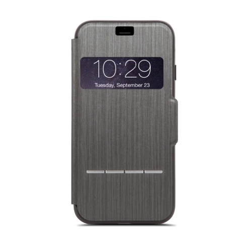 Moshi puzdro SenseCover pre iPhone 7 8 - Steel Black a2e2bcd5bfb