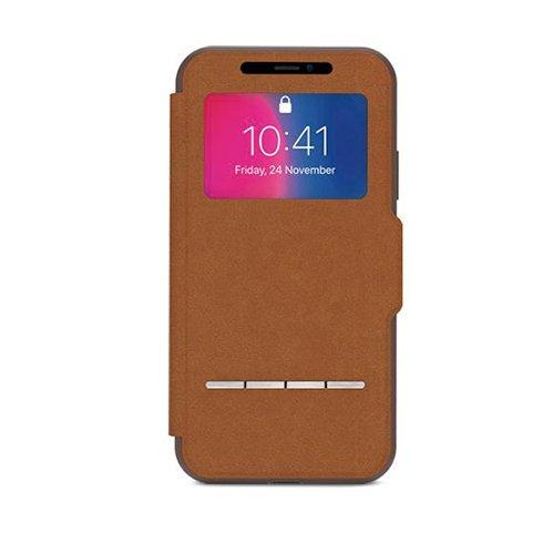 Moshi puzdro SenseCover pre iPhone X XS - Caramel Brown 804462d371e