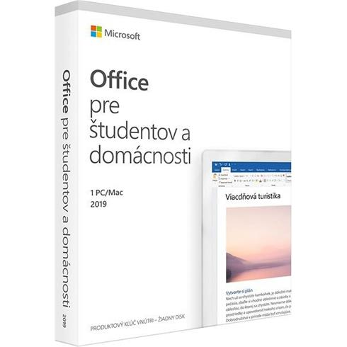 MS Office Home Student 2019 SK P6
