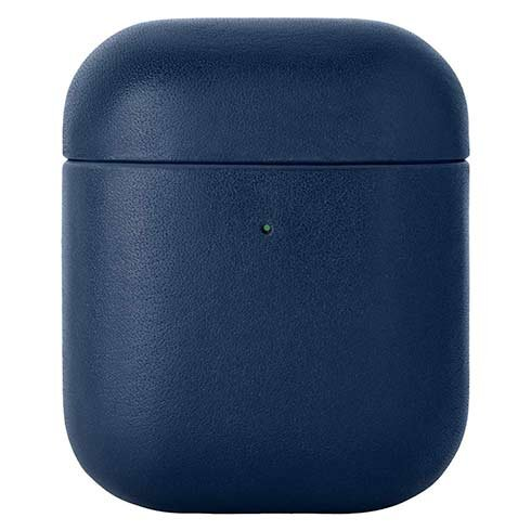 Native Union puzdro Leather Case pre Apple Airpods 1&2 - Navy Blue