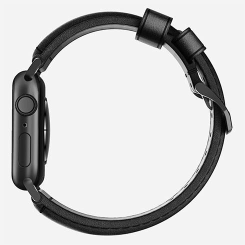 f90a4f0b5 Nomad kožený náramok pre Apple Watch 42/44 mm - Traditional Black/Black  Hardware