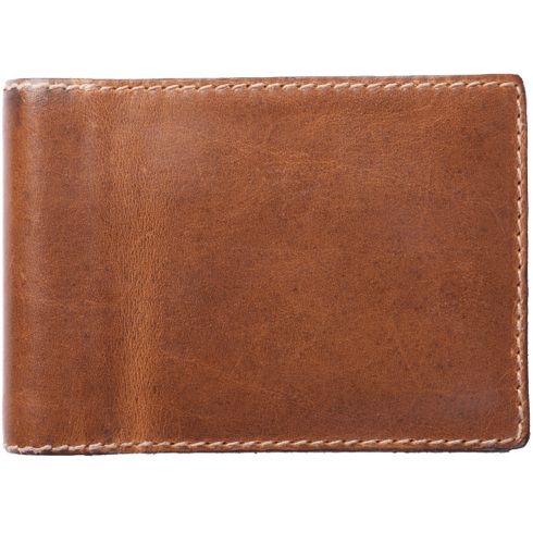 Nomad Leather Charging Wallet - Rustic Brown
