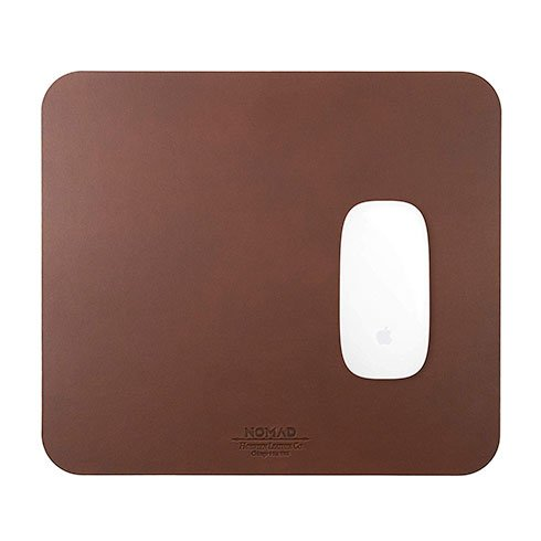 Nomad podložka pod myš Mousepad - Rustic Brown Leather