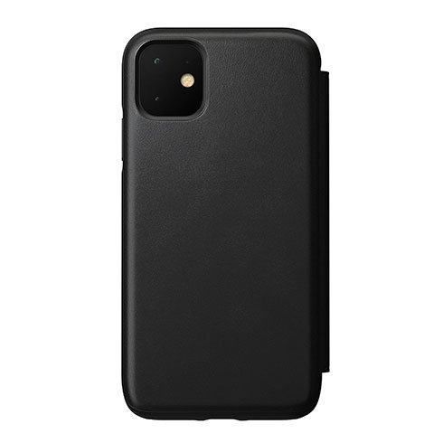 Nomad puzdro Rugged Folio pre iPhone 11 - Black
