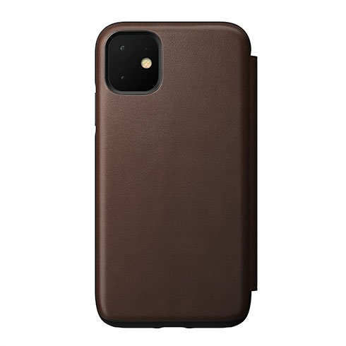 Nomad puzdro Rugged Folio pre iPhone 11 - Brown