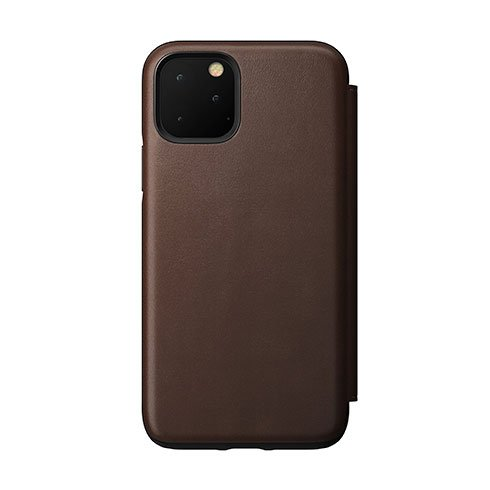 Nomad puzdro Rugged Folio pre iPhone 11 Pro - Brown