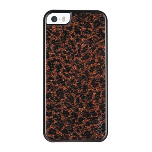 Odoyo kryt Glamour pre iPhone SE/5S/5 - Flash'in Leopard