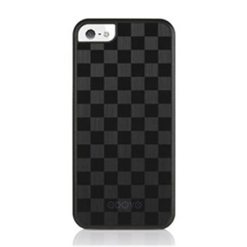 Odoyo kryt MetalSmith Collection pre iPhone SE/5S/5 - Grand Checker