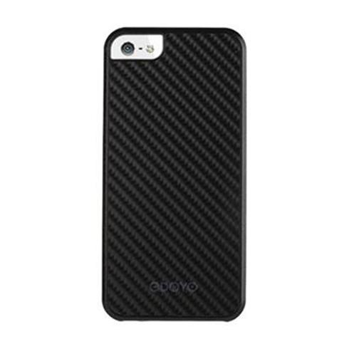 Odoyo kryt MetalSmith Collection pre iPhone SE/5S/5 - Midnight Black