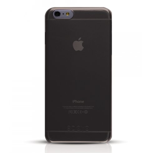 Odoyo kryt Soft Edge pre iPhone 6/6s - Graphite Black
